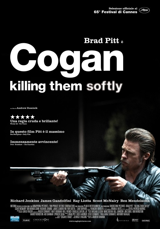 Locandina Manifesto del film ''Cogan - Killing Them Softly''