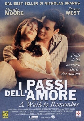 Locandina Manifesto del film ''I passi dell'amore - A Walk to Remember''