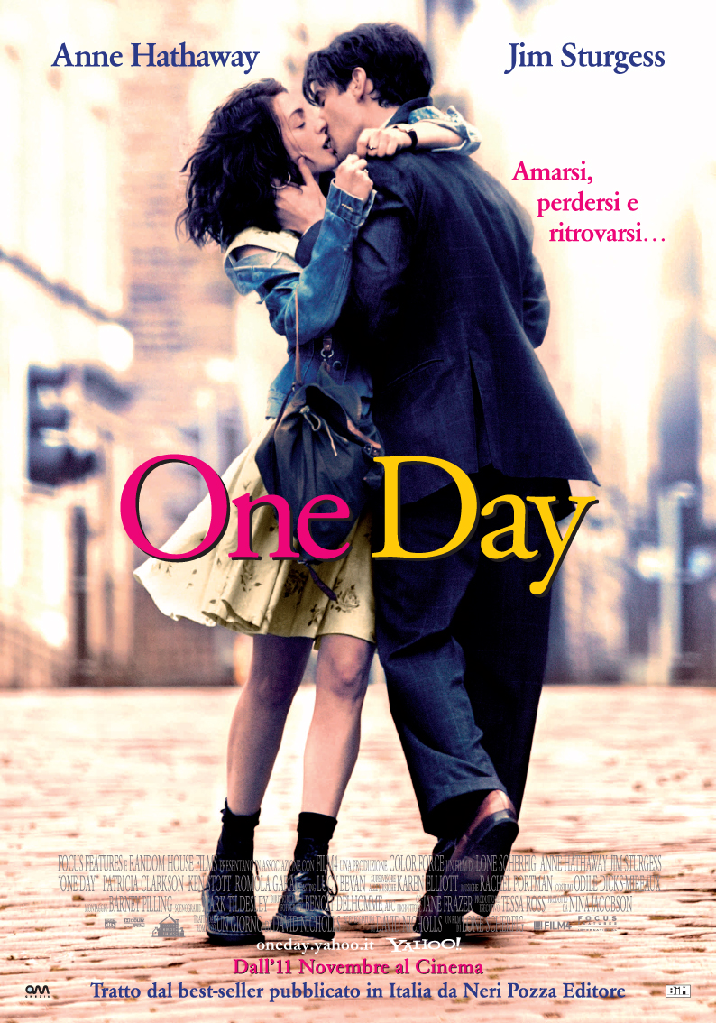 Locandina Manifesto del film ''One Day''
