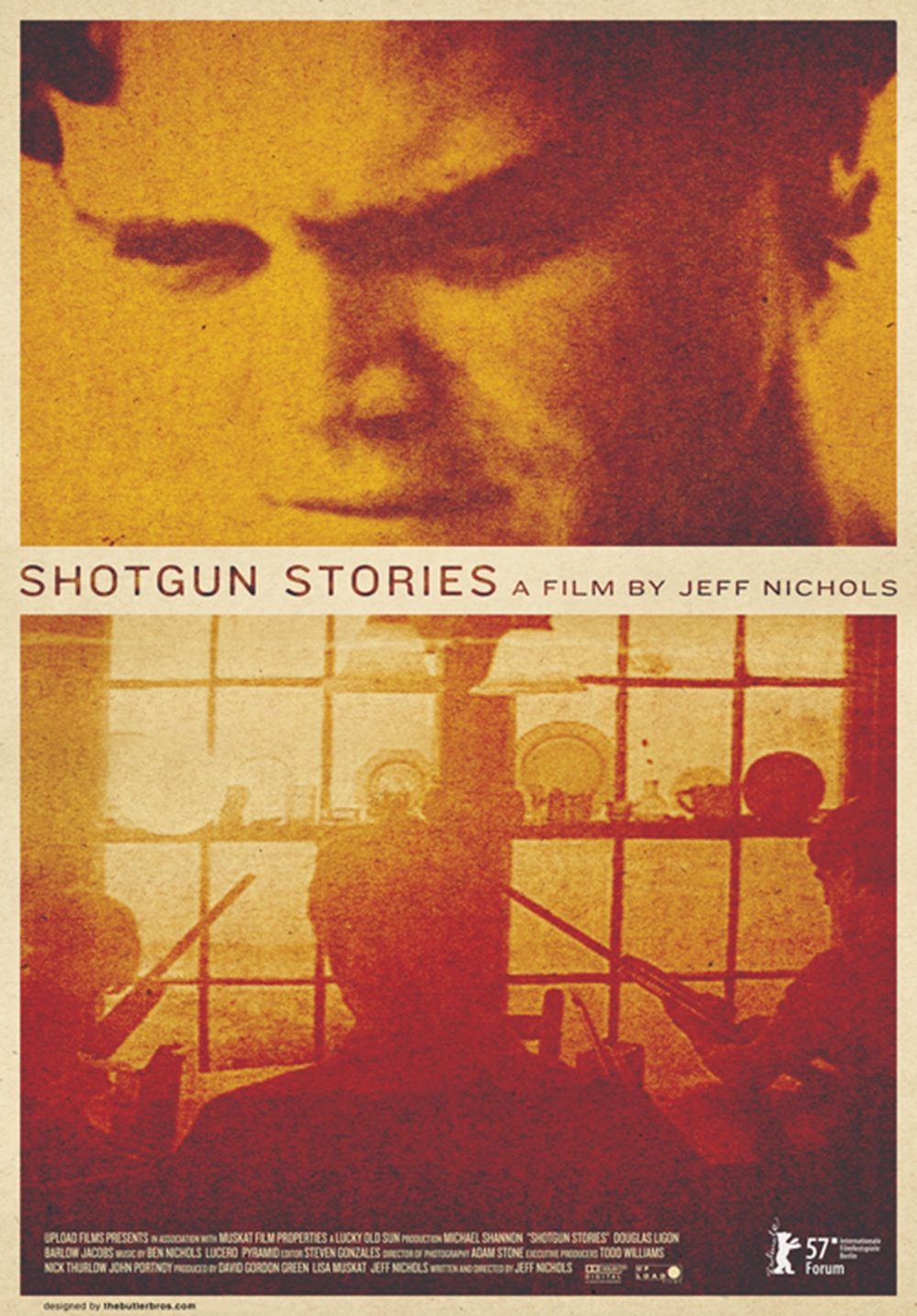 Locandina Manifesto del film ''Shotgun Stories''