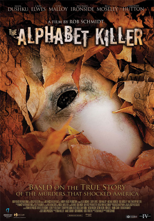 Locandina Manifesto del film ''The Alphabet Killer''