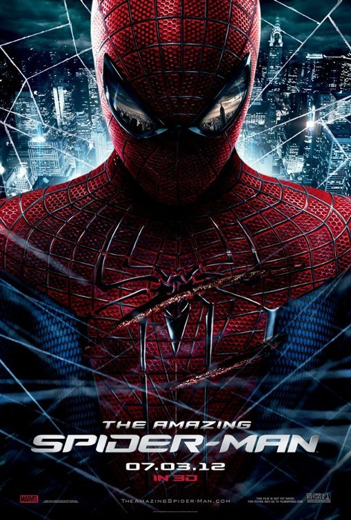 Locandina Manifesto del film ''The Amazing Spider-Man''