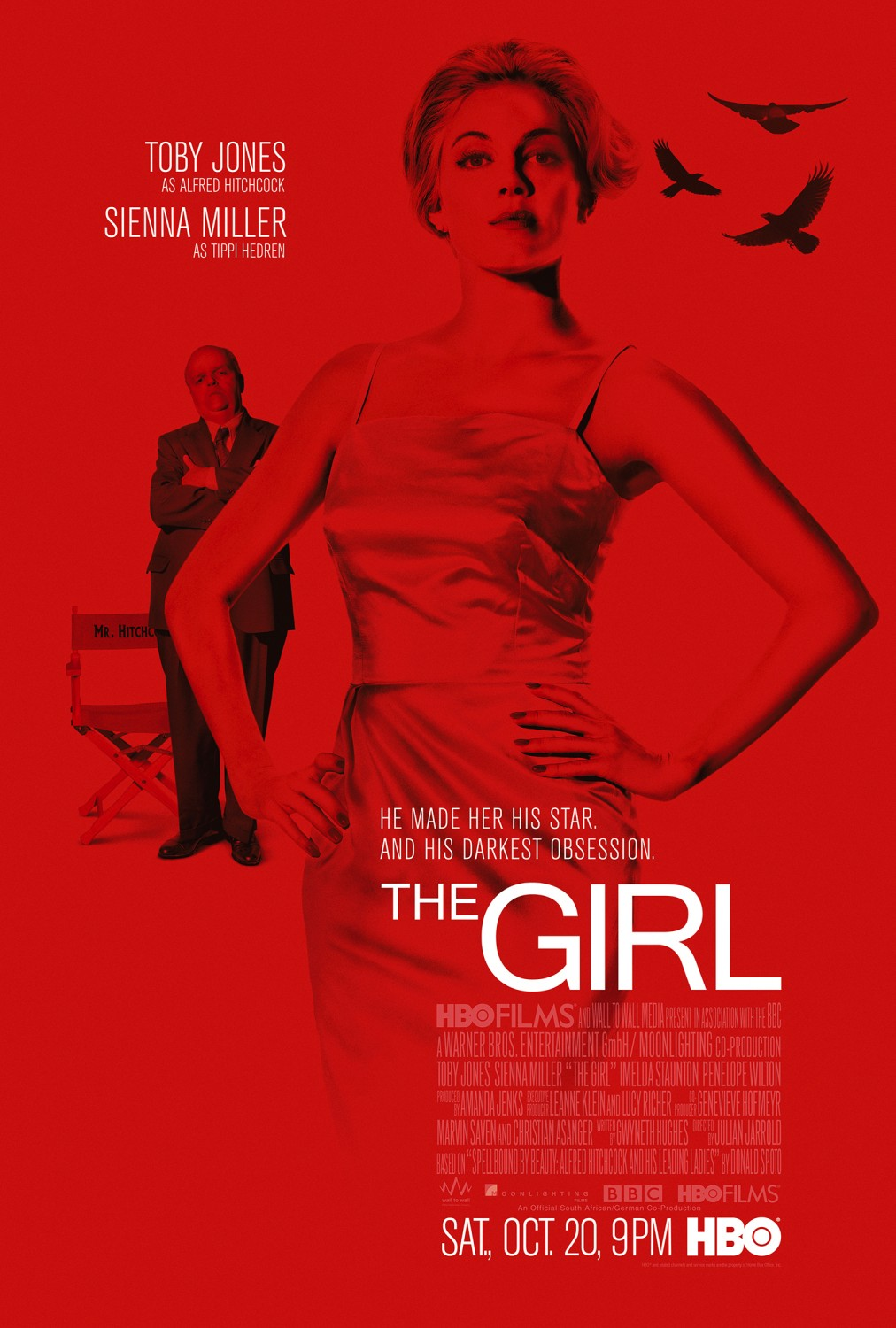 Locandina Manifesto del film ''The Girl''